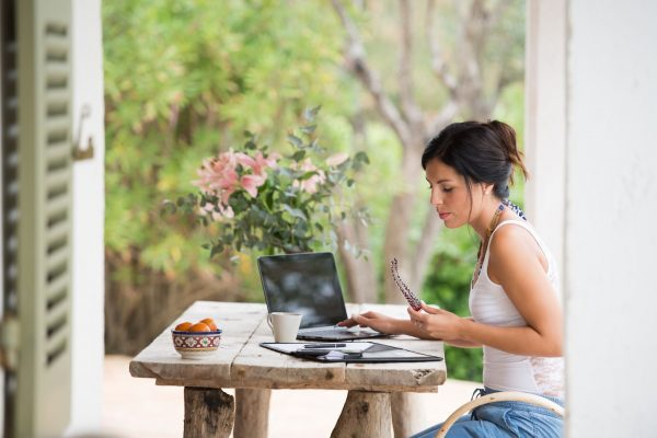 Accountants working from home